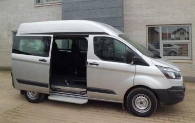 Ford Transit Custom L1H2 opbygget som hjælperbil.