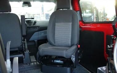 Autoadapt 6-Way Base konsol med originalt passagersæde.