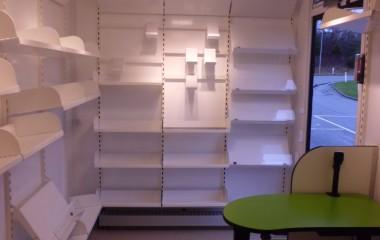 Fleksibelt indrettet af Modul Retail Solutions.