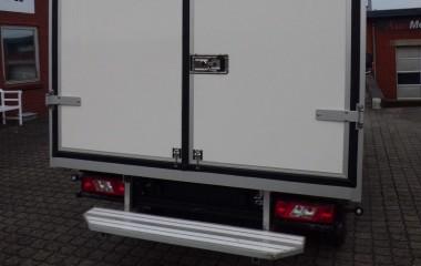 Ford Transit - standard sandwichkasse med dobbelte bagdøre
